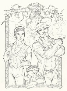 Winston and Baum 2 Inked Cover