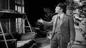 Everyone looks weird interacting with imaginary things . . . even Jimmy Stewart