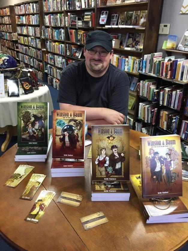 Hiram book signing