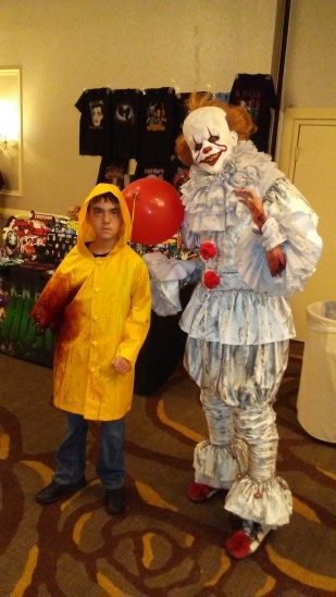 We all floated at Scares that Care with Pennywise & Georgie